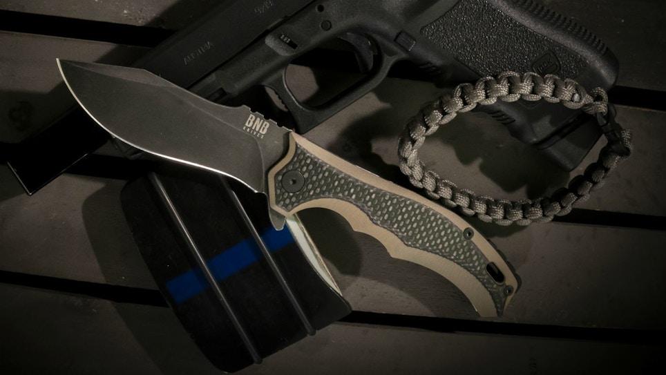 BucknBear EDC Diesel Knife