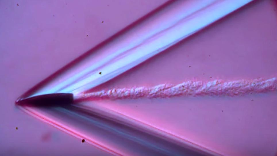 WATCH: Slow-Motion Bullet Shockwaves in Ballistic Gelatin
