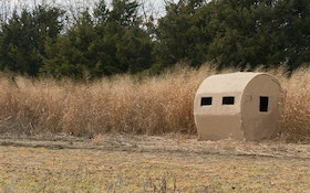 Fool Wary Whitetails With a Sportsman HD Burlap Bale Blind