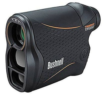 Modern rangefinders such as the Trophy Xtreme 850 with ARC provide line-of-sight distance, as well as true horizontal distance for elevated bow shots.
