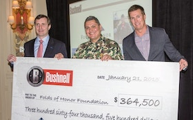 Bushnell Contributes More Than $360,000 To Folds Of Honor
