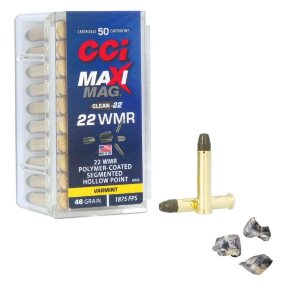 CCI Maxi-Mag Clean-22 Ammunition