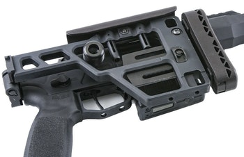 Sig Sauer Cross folding stock.
