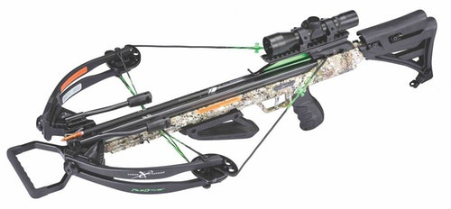 The Carbon Express PileDriver 390 crossbow kit performed well for the author and is priced at only $399.99. Like a bowhunt for axis deer in Texas, it's a great value.