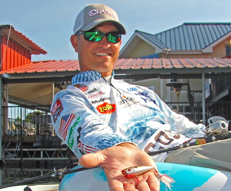 Bass Fishing Tip: Don't Put Down the Popper This Summer