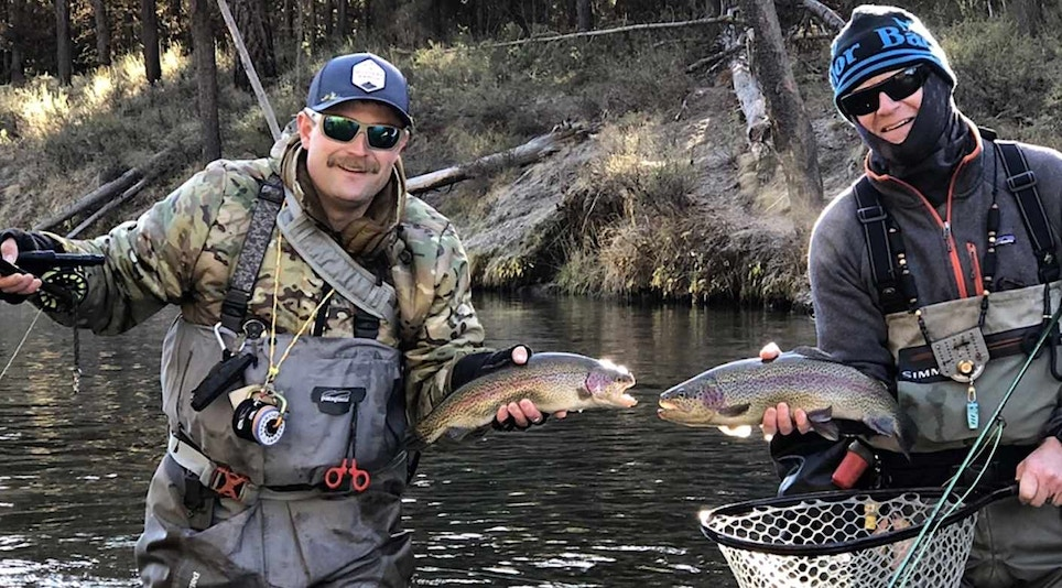 Seven Tips for Catching More Trout in Winter