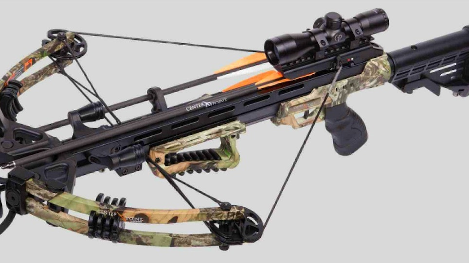 Centerpoint Archery's Sniper Elite Whisper Crossbow Now Available