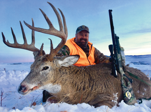 Shoot Straight television show host and Montana outfitter Chad Schearer uses questioning cues and even random obstructions in the woods to get bucks to stop. Photo: Chad Schearer