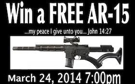 New York Church Spurns Critics, Raffles Second AR-15 Rifle