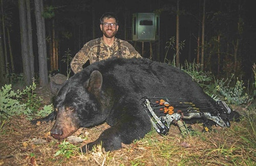 The author had hunted this bear in the previous four seasons, but had never laid eyes on him until the fall of 2018.