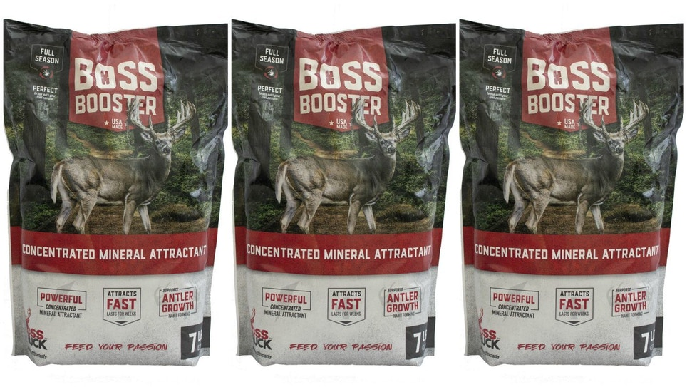 Boss Booster Concentrated Mineral Attractant From Boss Buck
