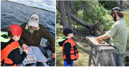 Kids sometimes learn (and listen) best from adults other than their parents. A guide helps in this regard, and also gets you on fish fast.
