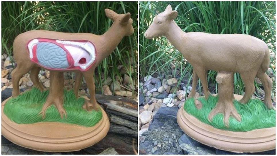 Deer Camp Conversation Starter: Mini 3-D 'Stick Pin' Whitetail