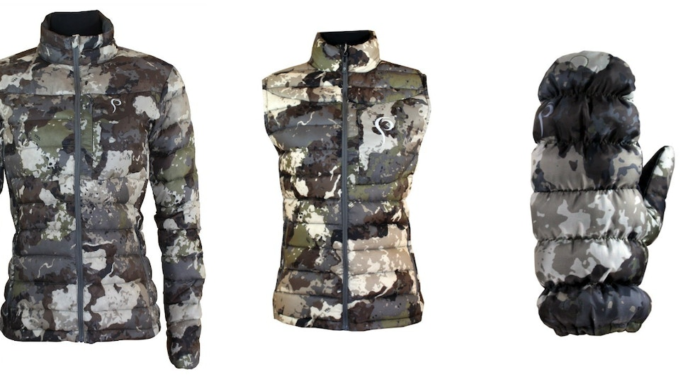 Prois Announces Callaid Lineup of Down Insulation Women's Hunting Clothes