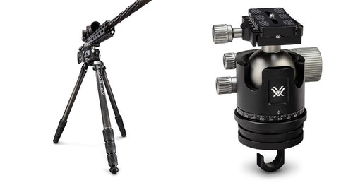 Radian Carbon Fiber Tripod With Ball Head