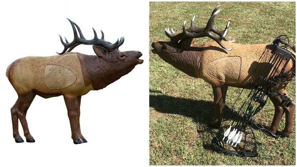 Rinehart 1/3 Scale Woodland Elk 3-D Target