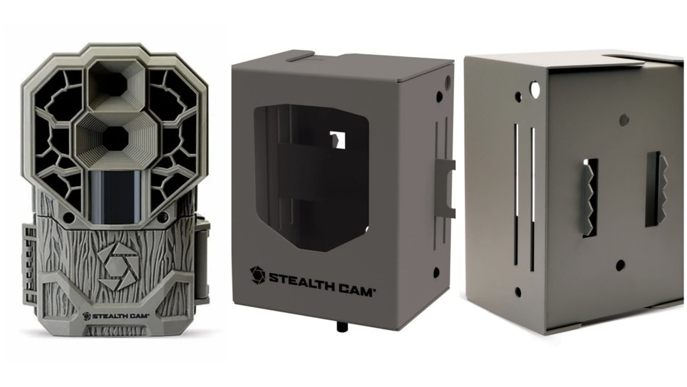 Stealth Cam Trail Camera Security Bear Boxes