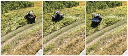 Defender XT side-by-sides have a tighter turning radius than any of its competitors, which certainly comes in handy for hunters, ranchers and recreational riders.