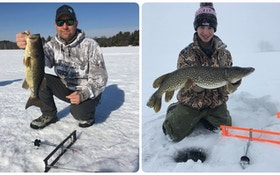 Ice Fishing Tip: A One/Two Punch for Bass and Pike