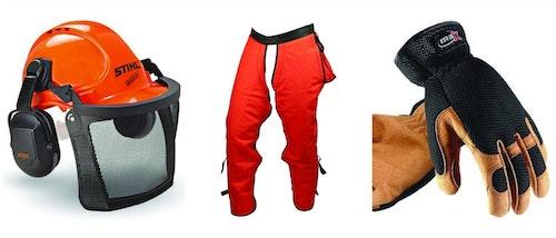 Hinge cutting is dangerous work. Always wear the proper safety gear.