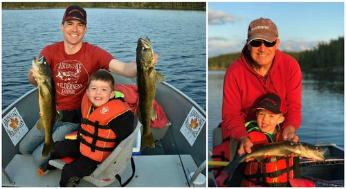 Action is the name of the game when it comes to keeping kids interested in fishing. A bonus trophy fish like the lake trout below can help punctuate the experience, but focus on numbers and not size.