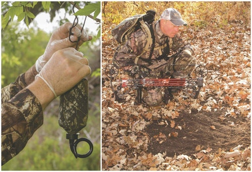 Heat-activated scent dispensers drip whitetail lure during daylight hours, making it more likely a buck will visit the spot during legal hunting time. Position a dripper 20 yards upwind of your treestand location. When a buck stops to investigate your mock scrape, you'll be rewarded with a standing shot.