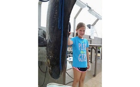 9-Year-Old Girl's 94-Pound Fish Sets Maryland Record