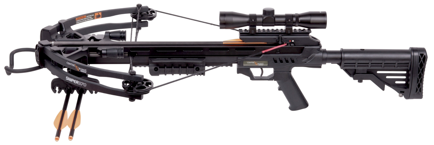 Crossbow Review: Crosman CenterPoint Sniper 370 | Grand View Outdoors