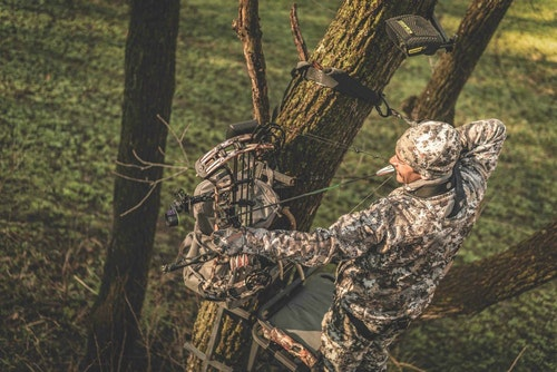 Incorporating an Ozonics unit into the mix has helped the author overcome the challenges of the wind, leading to many successful hunts for whitetails.