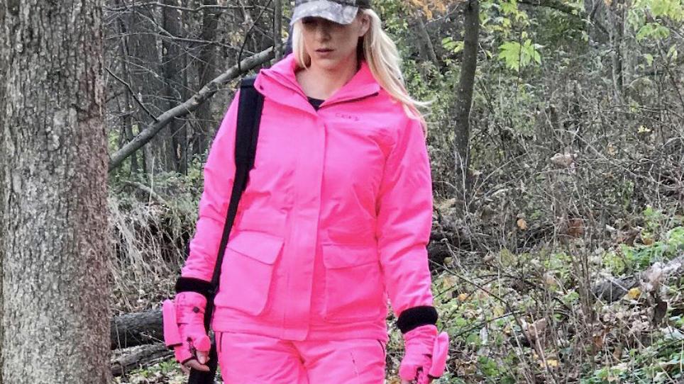 Don't Blink: Pink Approved for Hunter Safety Apparel