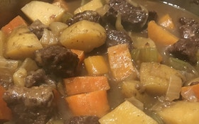 Dark Roast Venison Stew
