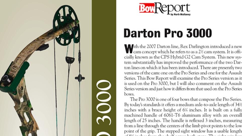 Bow Report: Darton Pro 3000