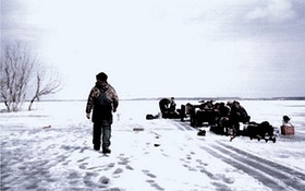 Destination: Ice Fishing Devils Lake, North Dakota