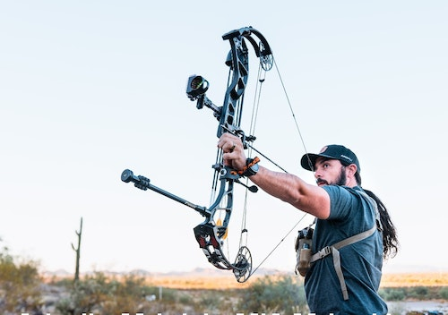 Long-range practice helps identify problems in your shooting form and archery gear. It also builds confidence for closer encounters.