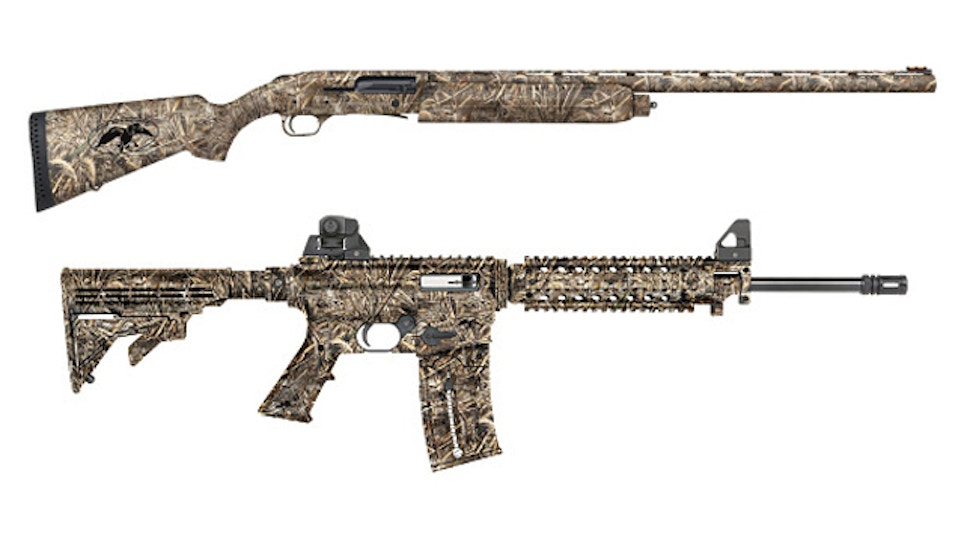 Mossberg offers 'Duck Commander' series of shotguns and rifles