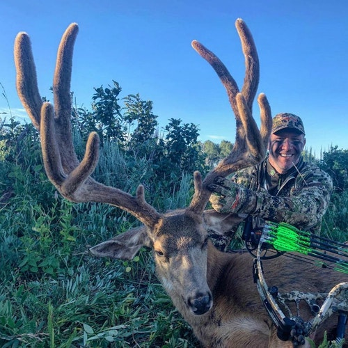 Mule deer season is in full swing. Congratulations to John Dudley.