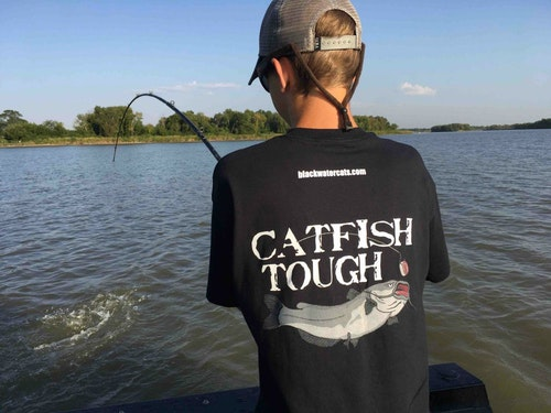 Red River channel cats will test your strength, over and over and over again.