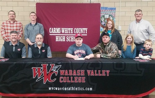 Eric Williams signs to shoot for Wabash Valley College.