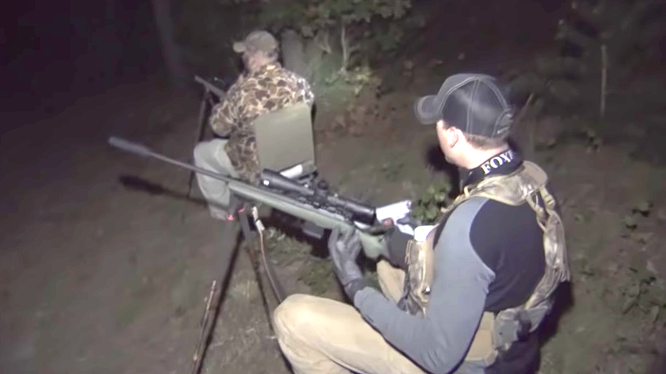 VIDEO: Foxpro Furtakers Double Up Hunting the Eastern Shore
