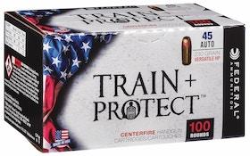 Federal Train + Protect handgun ammo