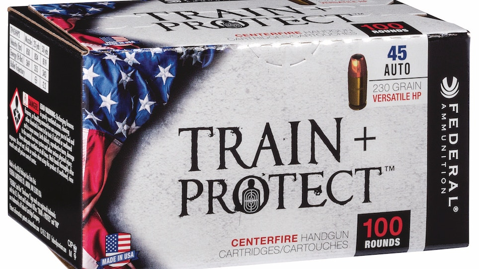 Federal Train + Protect handgun ammo