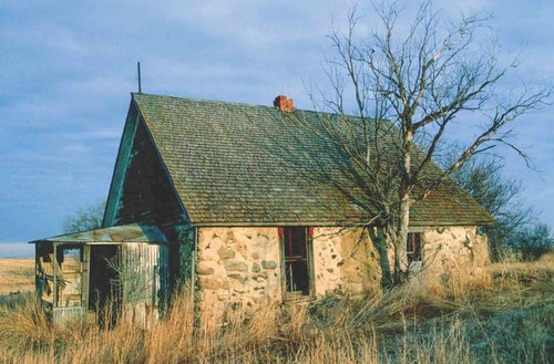 When scouting for spots where a buck and hot doe might disappear on lockdown, don't overlook isolated bits of cover suitable for pheasants and rabbits. One prime example is an abandoned farmstead.