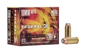 Federal Fusion 10mm Auto Ammunition