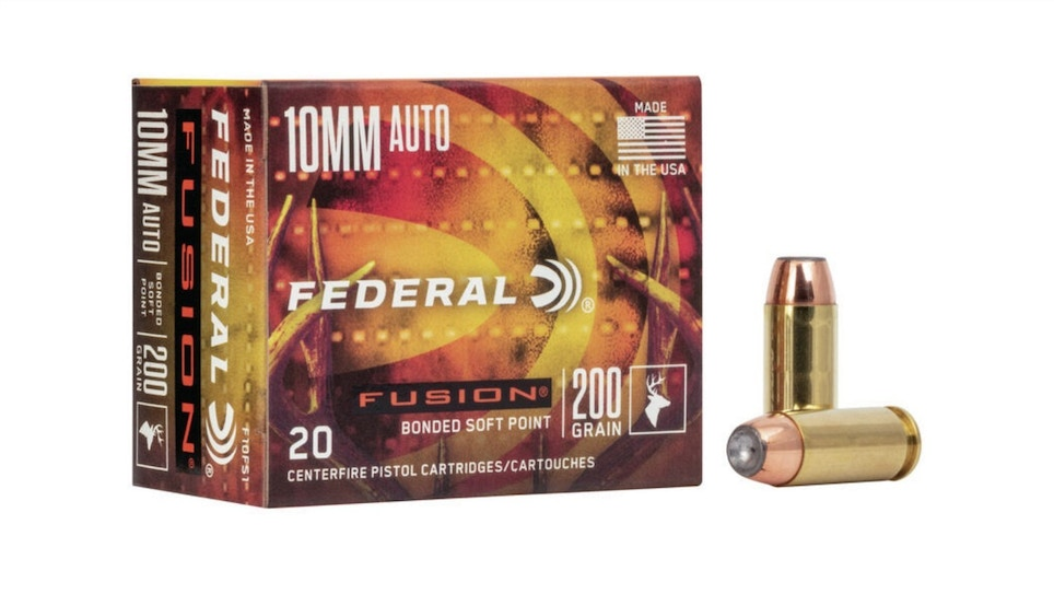 Federal Fusion 10mm Auto Ammunition