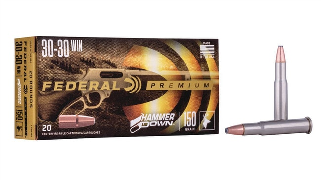Federal Premium HammerDown Lever-Action Rifle Ammo