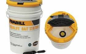Frabill Aqua-Life Bait Station