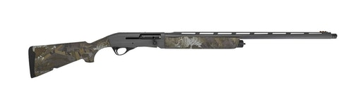 Franchi Affinity 3.5 Elite in cobalt Cerakote and Optifade Timber camouflage.