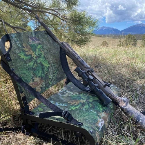 With a sturdy and comfortable back rest, the Millennium TU01 Field Pro works well for sitting in front of brushy cover to help break up your silhouette. (Photo from Fred Eichler Fan Page Facebook)