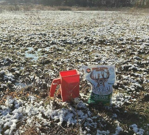 Don't miss the ideal planting window during late winter to spruce up your food plots for next deer season.
