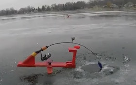 Ice Fishing Fail Video